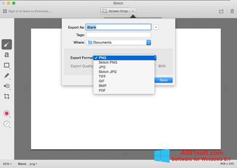 Screenshot Skitch Windows 8.1