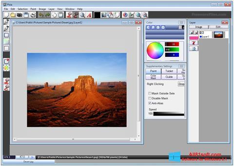 Screenshot Pixia Windows 8.1