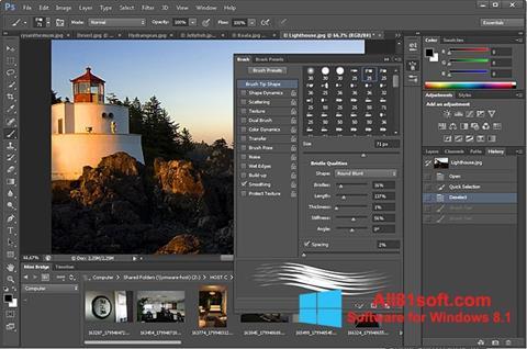 Screenshot Adobe Photoshop Windows 8.1
