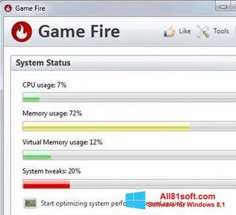 Screenshot Game Fire Windows 8.1