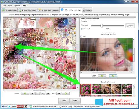 Screenshot Photo Collage Maker Windows 8.1