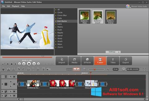 Screenshot Movavi Video Suite Windows 8.1