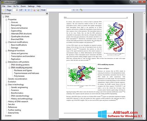 Screenshot Sumatra PDF Windows 8.1