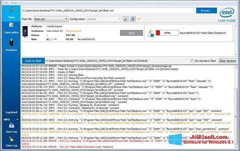 Screenshot FlashBoot Windows 8.1
