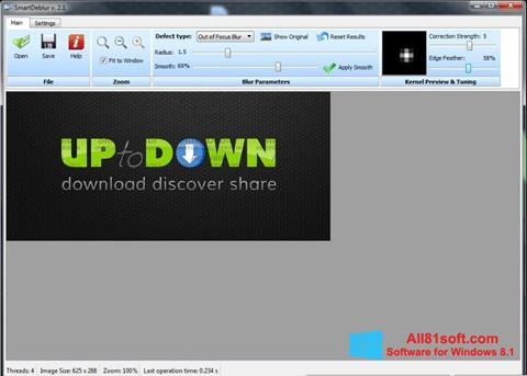 Screenshot SmartDeblur Windows 8.1