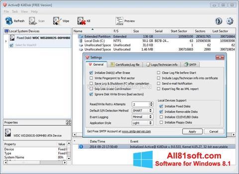 Screenshot Active KillDisk Windows 8.1