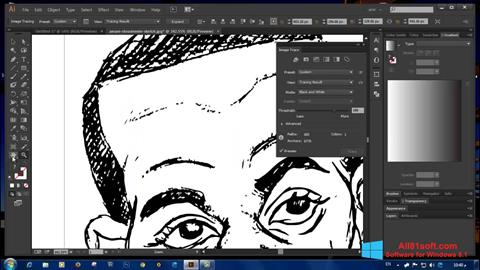 Screenshot Adobe Illustrator CC Windows 8.1