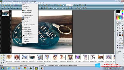 Screenshot PhotoFiltre Studio X Windows 8.1