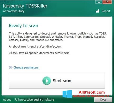 Screenshot Kaspersky TDSSKiller Windows 8.1