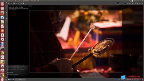 Screenshot RawTherapee Windows 8.1